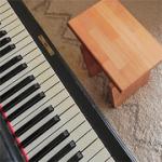 musikerstuhl klavierhocker torso